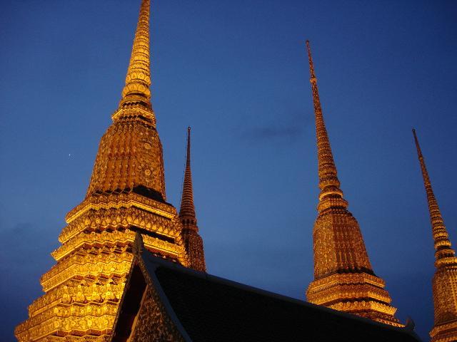 Wat Po Bangkok famous and favourite tourist visit