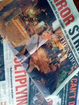 Thai press media newspaper