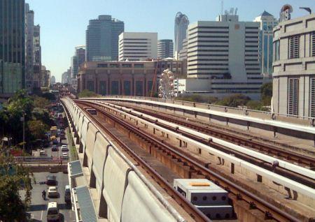 bts bangkok sky train