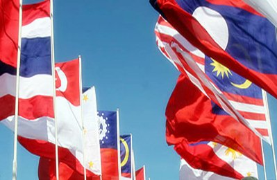 Asean summit flags