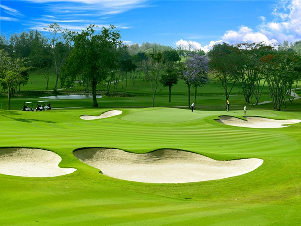 Pattaya, Thailand was named the best golf destination in Asia/Pacific