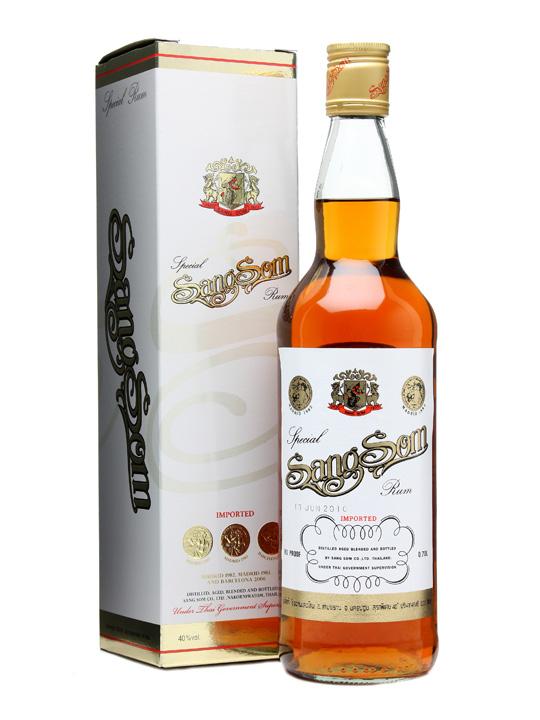 Thai rum SangSom