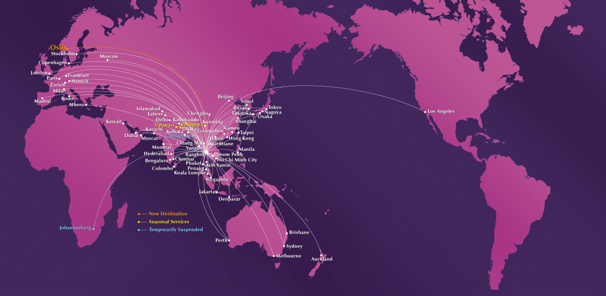 THAI woos travelers to Japan following visa waiver Airline Route Map Japan Travel on american airlines route map, lan airlines route map, hawaiian airlines route map, northwest airlines route map, garuda route map, singapore airlines route map, shanghai airlines route map, mokulele airlines route map, syrian airlines route map, lufthansa route map, korean air route map, seaport airlines route map, atlantic coast airlines route map, aeroflot airline route map, hawaiian airlines hubs map, israel airlines route map, canadian airlines route map, united airlines route map, malaysia airlines route map, pakistan airlines route map,