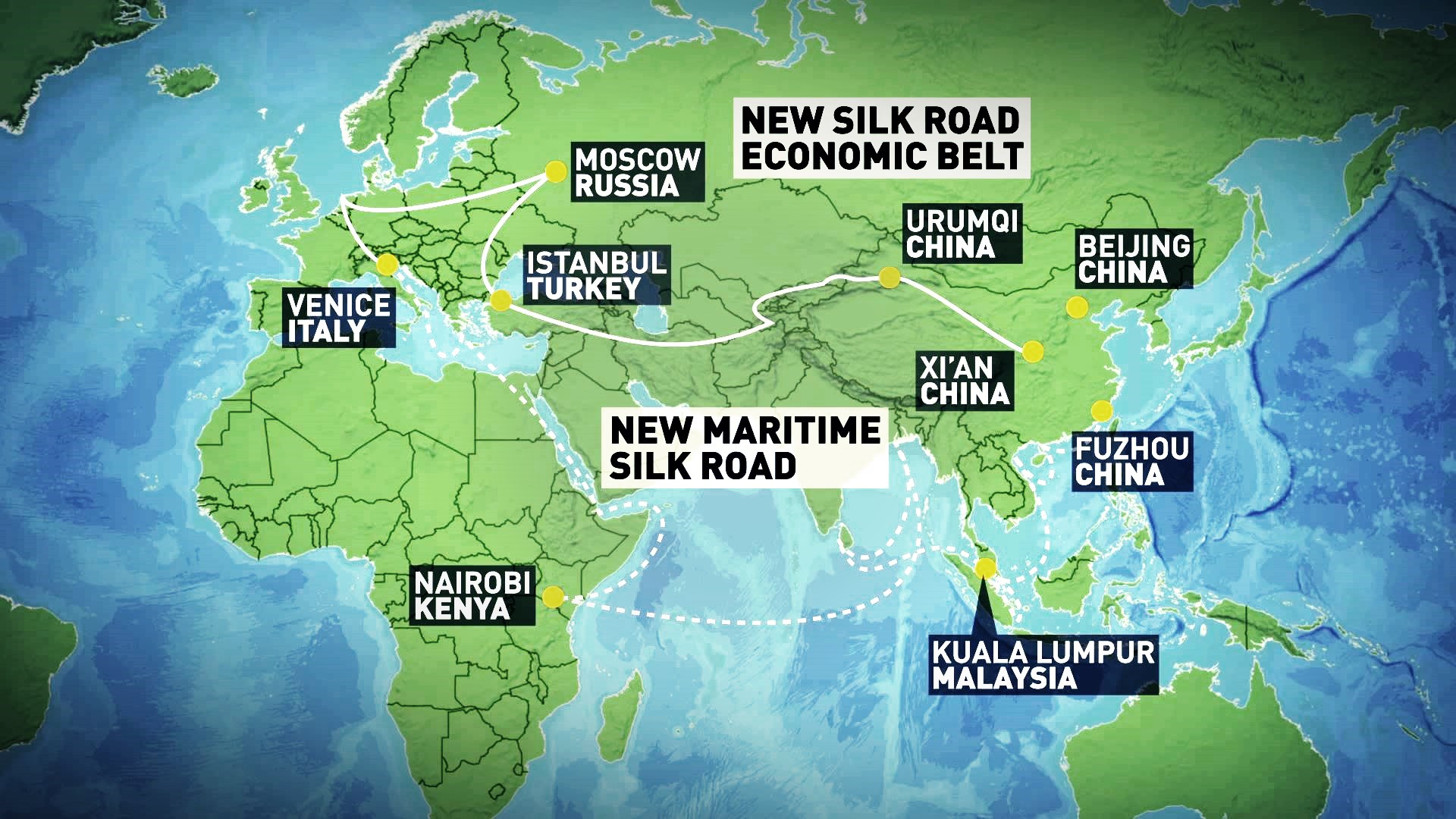 Belt and Road Initiative and EEC connectivity boosts