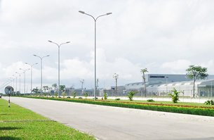 Photo: Deep C Industrial Zone in Hai Phong.(Photograph provided by Deep C Industrial Zone,Hai Phong)