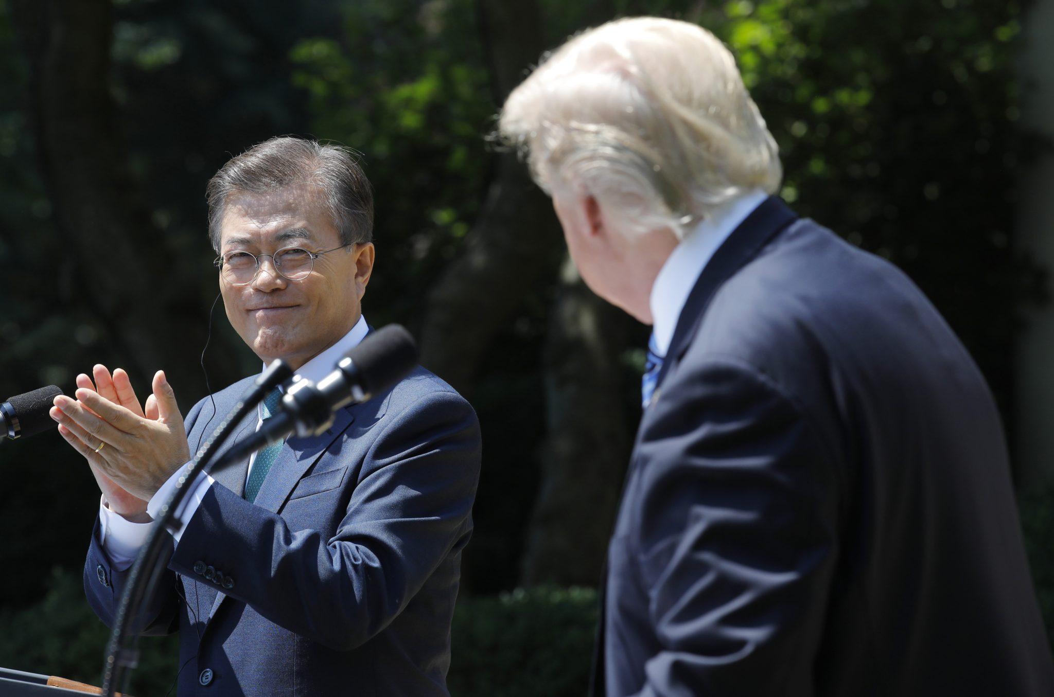 Launch of the Trump–Moon era