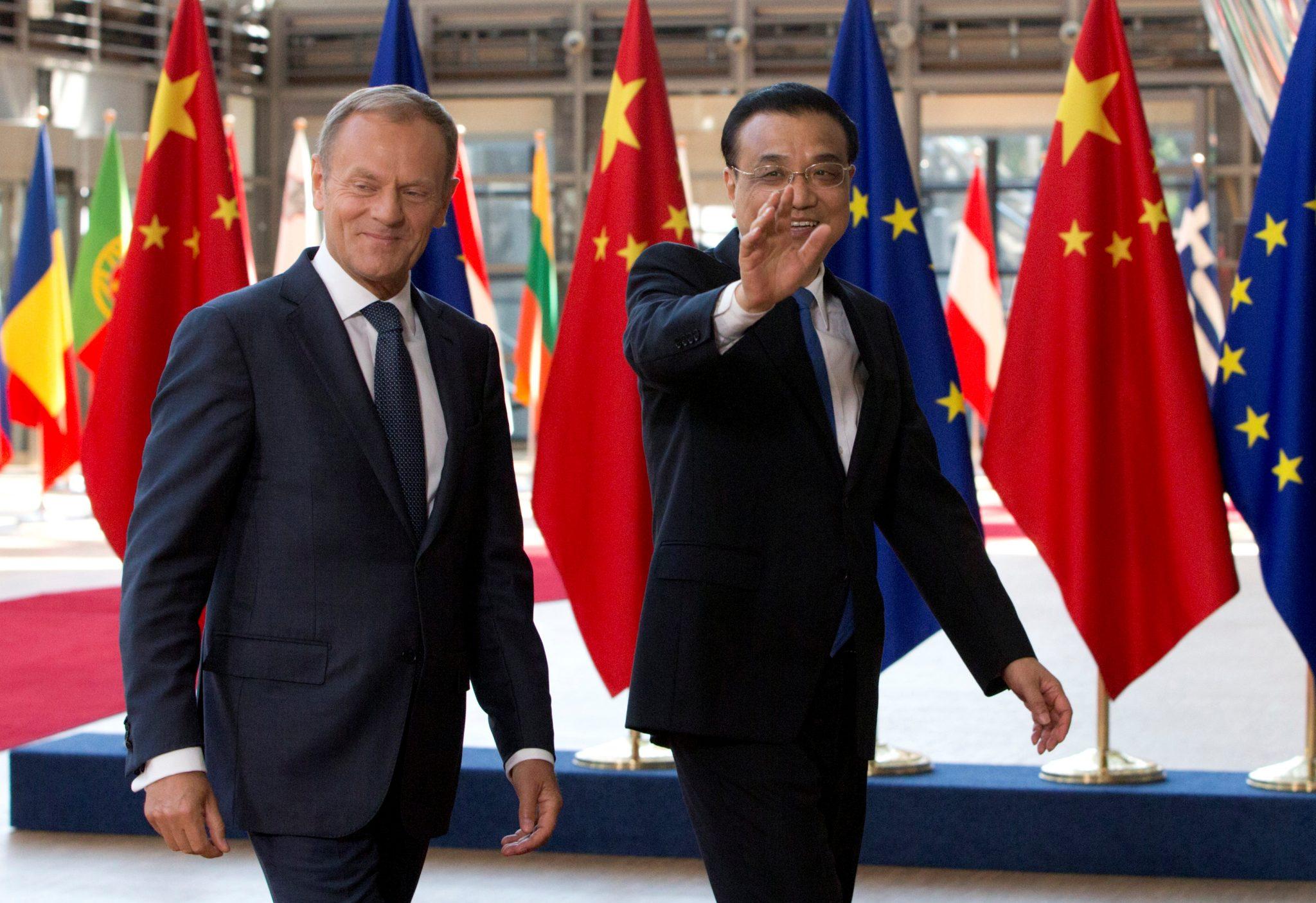 EU–China relations in the Trump era