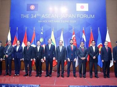 34th ASEAN-Japan Forum held in Hanoi