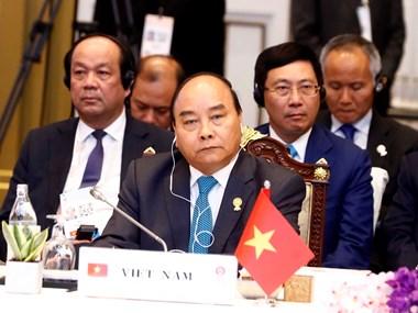 PM Nguyen Xuan Phuc attends plenum of 34th ASEAN Summit