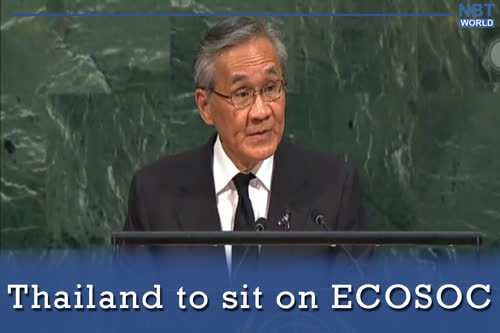 Thailand to sit on ECOSOC