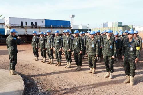 Thai Army Engineers on Peace Mission in South Sudan – Politics
