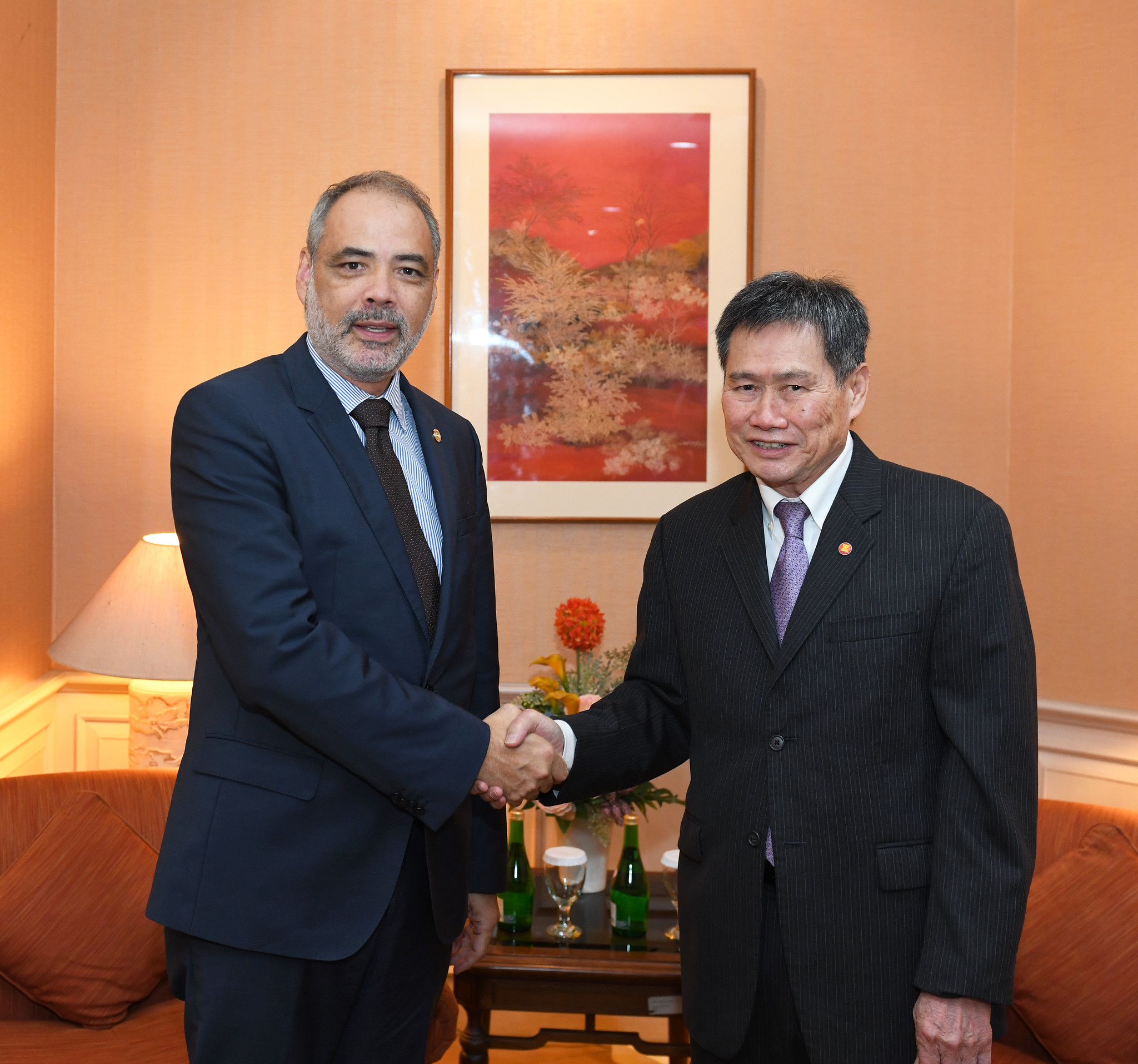 Deputy Minister of Foreign Affairs of Guatemala visits the ASEAN