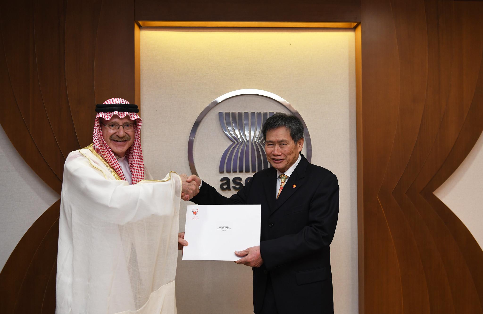 Ambassador of the Kingdom of Bahrain to ASEAN presents credentials