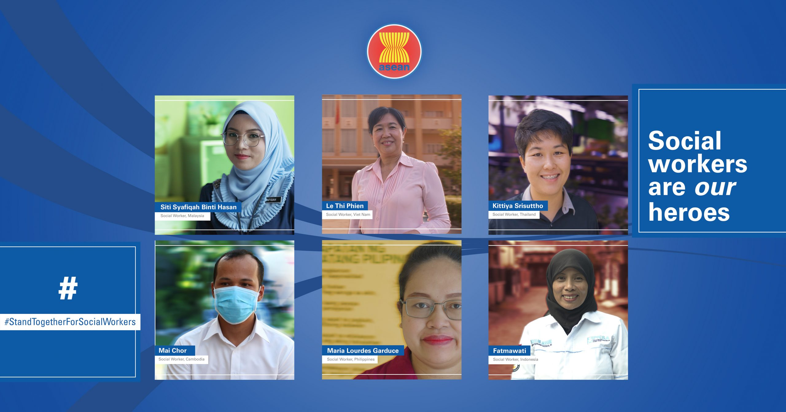 ASEAN, UNICEF launch campaign to promote social work