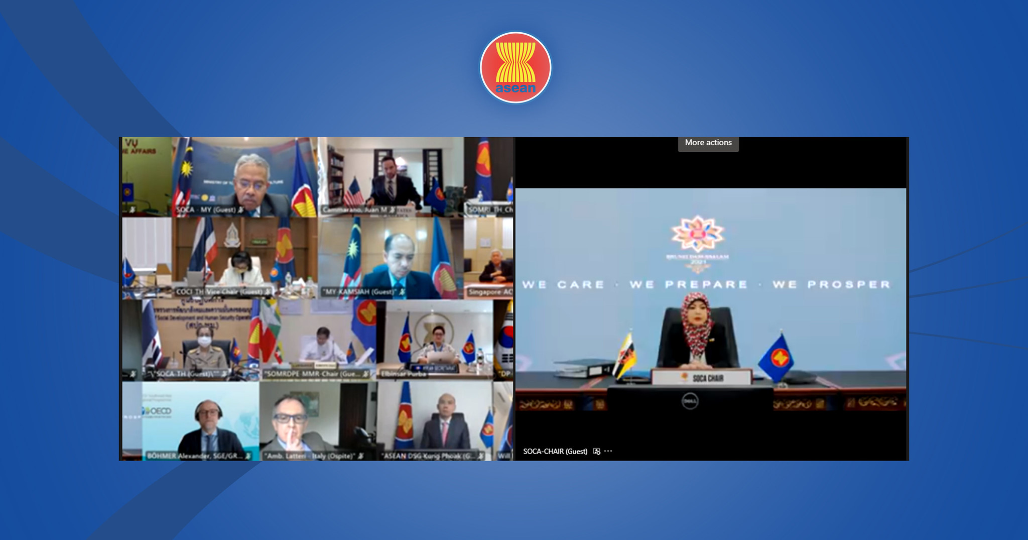 ASEAN holds first partnership conference on region's post COVID-19 recovery